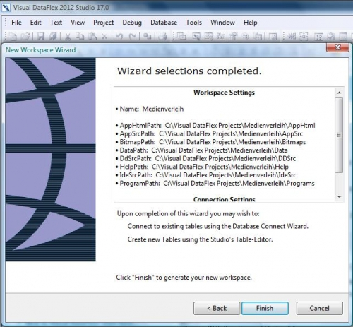 Wizard selection 1