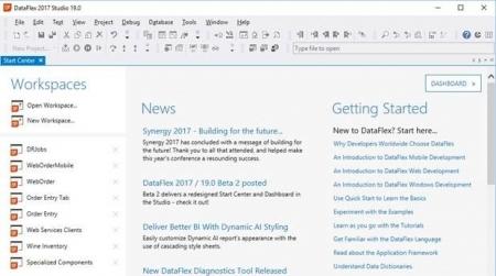 DataFlex 2017 Studio v19.0